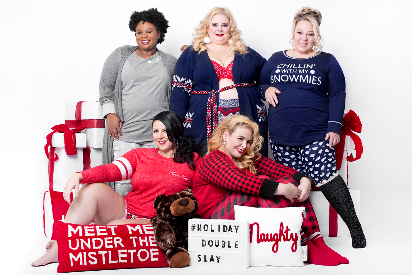 #HolidayDoubleSlay 2017 - PJs with Lane Bryant